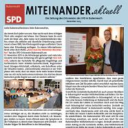 Titelbild der Weihnachts-Ausgabe 2015 unserer Ortsvereinszeitung MITEINANDER.aktuell