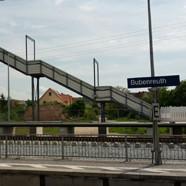 Fußgängerbehelfsbrücke