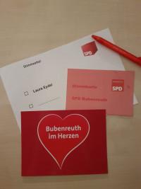 Bubenreuther SPD nominiert Laura Eydel einstimmig zu ihrer Bürgermeisterkandidatin