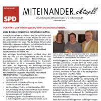 Die neue Ausgabe MITEINANDER.aktuell steht zum Download bereit