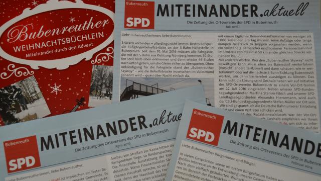 MITEINANDER.aktuell - Die Zeitung der SPD für Bubenreuth