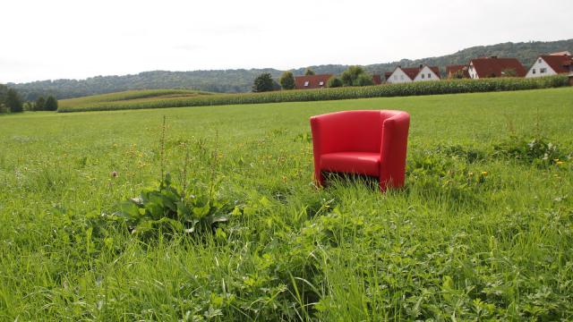 Talk auf dem roten Stuhl